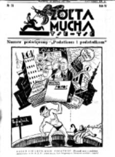 Żółta Mucha Tse-Tse. R. 4, nr 28 (26 czerwca 1932)