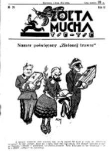 Żółta Mucha Tse-Tse. R. 4, nr 29 (3 lipca 1932)