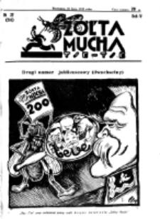 Żółta Mucha Tse-Tse. R. 4, nr 32 (18 lipca 1932)