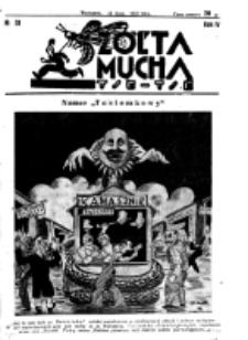 Żółta Mucha Tse-Tse. R. 4, nr 33 (24 lipca 1932)