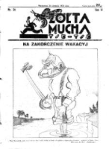 Żółta Mucha Tse-Tse. R. 4, nr 39 (24 sierpnia 1932)