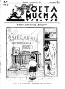 Żółta Mucha Tse-Tse. R. 4, nr 42 (7 września 1932)