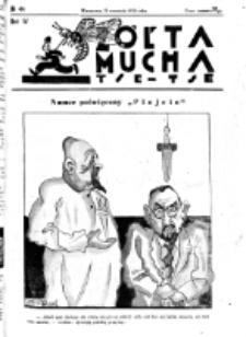 Żółta Mucha Tse-Tse. R. 4, nr 44 (21 września1932)