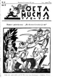 Żółta Mucha Tse-Tse. R. 4, nr 46 (28 września 1932)
