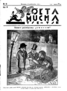 Żółta Mucha Tse-Tse. R. 4, nr 48 (12 października 1932)