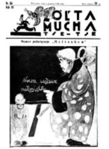 Żółta Mucha Tse-Tse. R. 4, nr 56 (6 grudnia 1932)