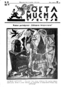 Żółta Mucha Tse-Tse. R. 4, nr 58 (19 grudnia 1932)