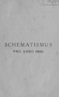 Catalogus Ecclesiarum et Cleri Dioecesis Vilnensis pro Anno Domini 1922