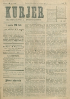 Kurjer. R. 5, nr 36 (1910)