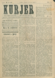 Kurjer. R. 5, nr 31 (1910)