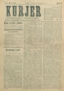 Kurjer. R. 5, nr 39 (1910)