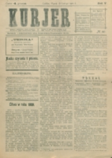 Kurjer. R. 5, nr 40 (1910)