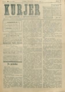 Kurjer. R. 5, nr 47 (1910)