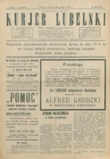 Codzienny Kurjer Lubelski. 1914, nr 49 (154)