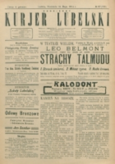 Codzienny Kurjer Lubelski. 1914, nr 117 (222)
