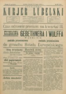 Codzienny Kurjer Lubelski. 1914, nr 161 (266)