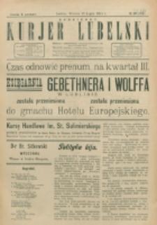 Codzienny Kurjer Lubelski. 1914, nr 168 (263)