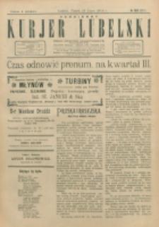 Codzienny Kurjer Lubelski. 1914, nr 166 (271)