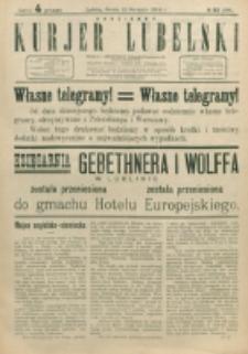 Codzienny Kurjer Lubelski. 1914, nr 183 (288)