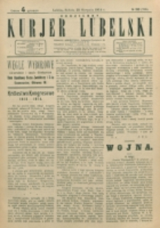 Codzienny Kurjer Lubelski. 1914, nr 193 (298)