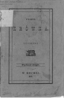Czarna krówka : legienda z naszych czasów / przez Wincentego Pola.
