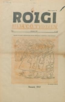 Rózgi : biją co tydzień. R. 2, nr 1=21 (1947)