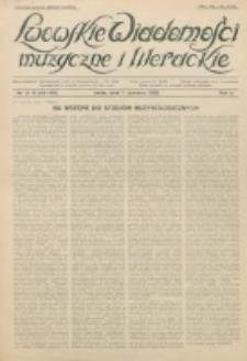 Lwowskie Wiadomości Muzyczne i Literackie : organ Związku Muzyków-Pedagogów, poświęcony sprawom kultury muzycznej i twórczości literackiej. R. 5, nr 5/6=54/55 (1930) 7 czerwca 1930