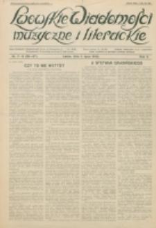 Lwowskie Wiadomości Muzyczne i Literackie : organ Związku Muzyków-Pedagogów, poświęcony sprawom kultury muzycznej i twórczości literackiej. R. 5, nr 7/8=56/57 (1930) 1 lipca 1930