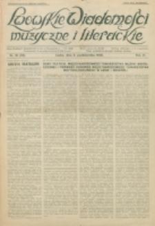 Lwowskie Wiadomości Muzyczne i Literackie : organ Związku Muzyków-Pedagogów, poświęcony sprawom kultury muzycznej i twórczości literackiej. R. 5, nr 10=59 (1930) 3 października 1930