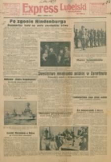 Express Lubelski i Wołyński. 1934, 4 Sierpnia