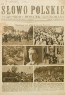 """Słowo Polskie : tygodniowy dodatek ilustrowany. R. 1, nr 2 (1925). : bezpłatny dodatek do Nr 237 """"Słowa Polskiego"""""""