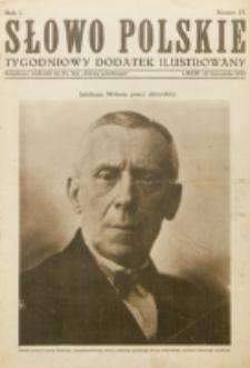 """Słowo Polskie : tygodniowy dodatek ilustrowany. R. 1, nr 13 (1925). : bezpłatny dodatek do Nr 314 """"Słowa Polskiego"""""""
