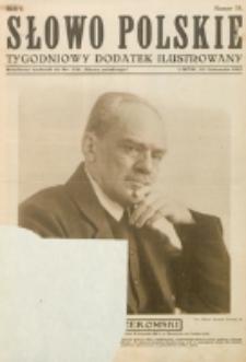 """Słowo Polskie : tygodniowy dodatek ilustrowany. R. 1, nr 15 (1925) : bezpłatny dodatek do Nr 328 """"Słowa Polskiego"""""""
