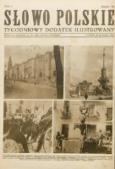 """Słowo Polskie : tygodniowy dodatek ilustrowany. R. 1, nr 18 (1925) : bezpłatny dodatek do Nr 349 """"Słowa Polskiego"""""""