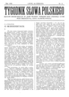 Tygodnik Słowa Polskiego. Nr 8 (1902)