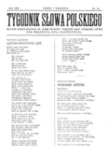 Tygodnik Słowa Polskiego. Nr 10 (1902)