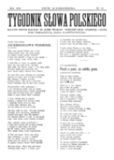 Tygodnik Słowa Polskiego. Nr 15 (1902)