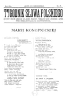 Tygodnik Słowa Polskiego. Nr 17 (1902)
