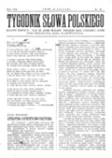 Tygodnik Słowa Polskiego. Nr 21 (1902)