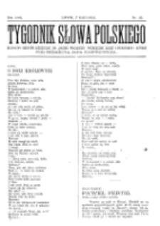 Tygodnik Słowa Polskiego. Nr 23 (1902)