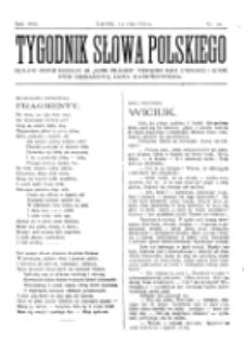 Tygodnik Słowa Polskiego. Nr 24 (1902)