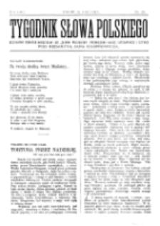 Tygodnik Słowa Polskiego. Nr 25 (1902)