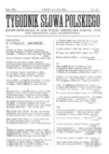 Tygodnik Słowa Polskiego. Nr 26 (1902)