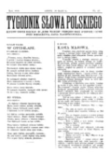 Tygodnik Słowa Polskiego. Nr 13 (1903)