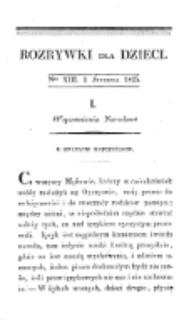 Rozrywki dla Dzieci. R. 2, T. 3, nr 13 (1825)