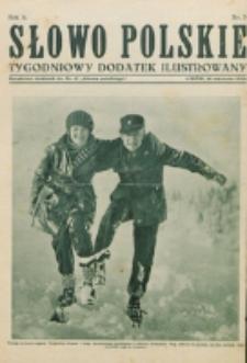 """Słowo Polskie : tygodniowy dodatek ilustrowany. R. 2, nr 3 (1926). : bezpłatny dodatek do Nr 17 """"Słowa Polskiego"""""""