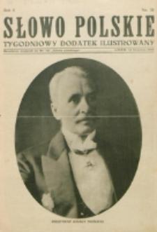 """Słowo Polskie : tygodniowy dodatek ilustrowany. R. 2, nr 24 (1926). : bezpłatny dodatek do Nr 161 """"Słowa Polskiego"""""""