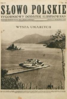 """Słowo Polskie : tygodniowy dodatek ilustrowany. R. 2, nr 39 (1926). : bezpłatny dodatek do Nr 266 """"Słowa Polskiego"""""""