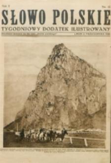 """Słowo Polskie : tygodniowy dodatek ilustrowany. R. 2, nr 41 (1926). : bezpłatny dodatek do Nr 280 """"Słowa Polskiego"""""""