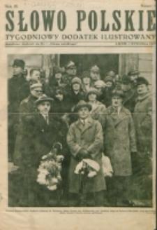 """Słowo Polskie : tygodniowy dodatek ilustrowany. R. 3, nr 1 (1927). : bezpłatny dodatek do Nr 1 """"Słowa Polskiego"""""""